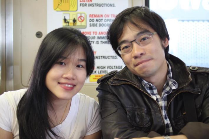나와 Asian Leadership Academy를 같이 하는 태국의 거인 메이와 통
