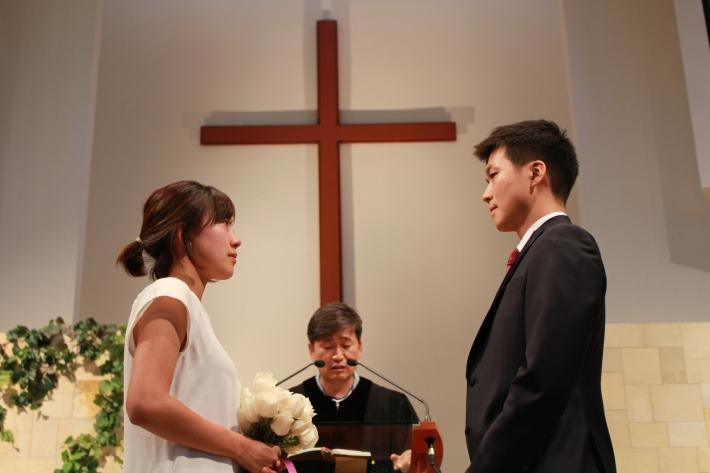 정말 정신없이 치룬 첫 결혼식